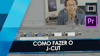 Como fazer o J-CUT no Sony Vegas e no Adobe Premiere // Tutorial