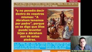 Mateo 004 Mt 3,1-17: Juan el Bautista. Bautismo de Jesús.
