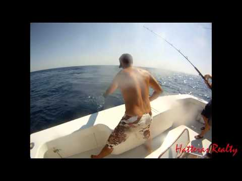 Offshore Fishing with Hatteras Realty