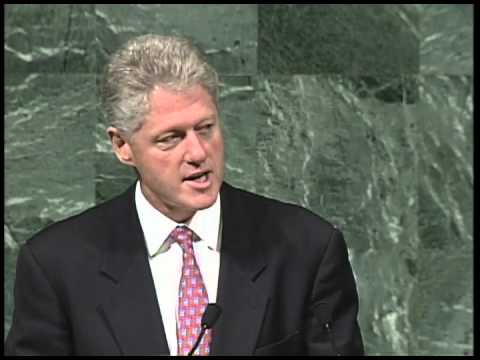 President Clinton's Address to the UN General Assembly