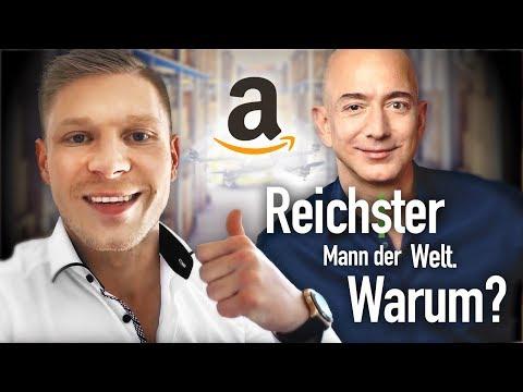 Wie der Amazon Gründer zum reichsten Mann der Welt wurde