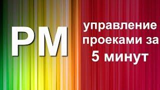 Методы управления проектами за 5 минут (Живая записть)