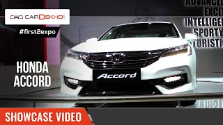 #first2expo : 2016 Honda Accord | Showcase Video | CarDekho@AutoExpo