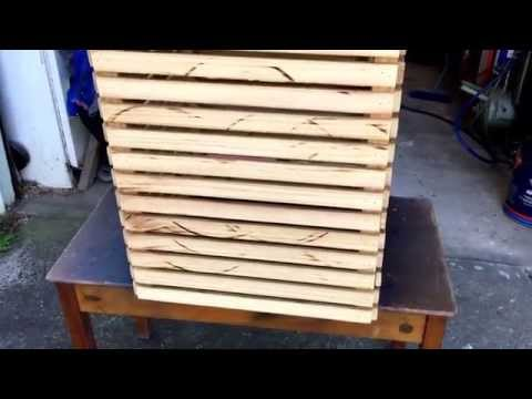 2x4 Clothes hamper, 1day build September 2015