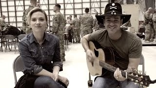 #wcw: (with Scarlett Johansson) These Boots Are Made For Walkin' (cover by Craig Campbell)
