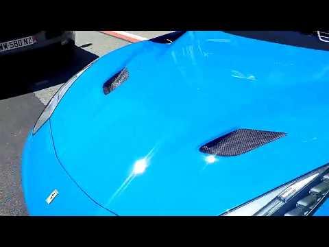 Blue F12 TDF outside the Monaco Automobile Association! over $1million!!