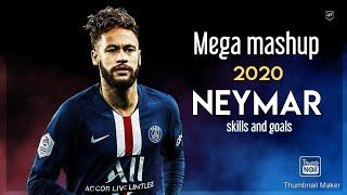 Neymar jr insane Skills Goals Mega mashup 2020 4K CHANNEL ON