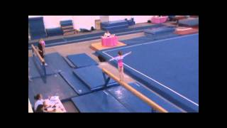 Holland Reid- JFJ Elite Meet (Level 7) 8 yrs old   3-12-11