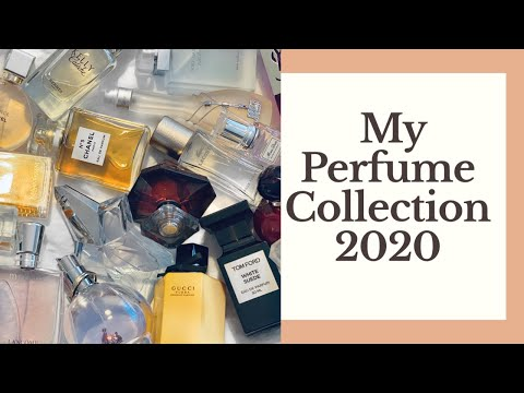 MY UPDATED PERFUME COLLECTION | 2020