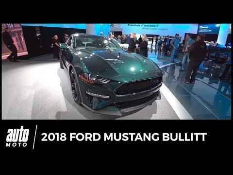 2018 Ford MUSTANG BULLITT en détail AUTO-MOTO.COM