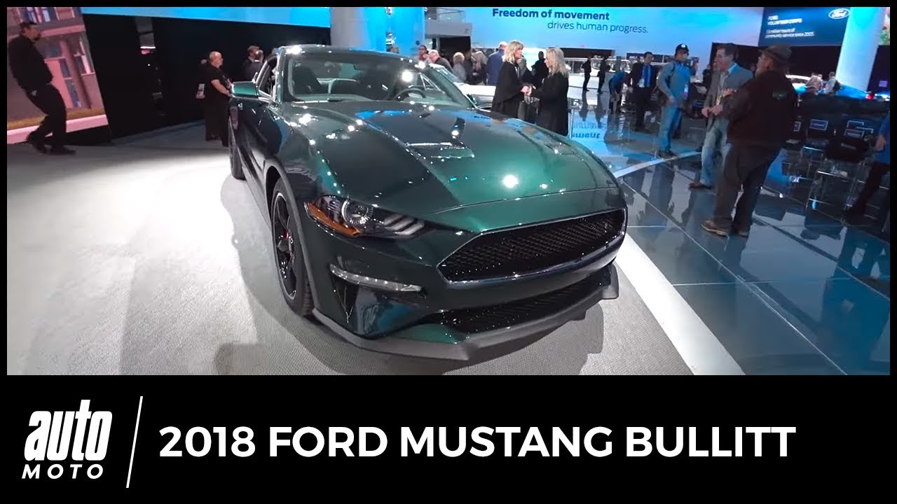 2018 ford mustang bullitt en d tail auto moto com youtube. Black Bedroom Furniture Sets. Home Design Ideas