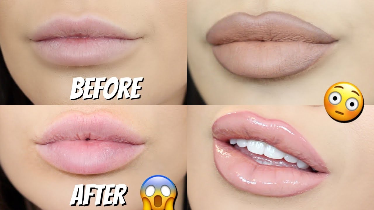 top 4 hacks for bigger lips naturally | how to make your lips look