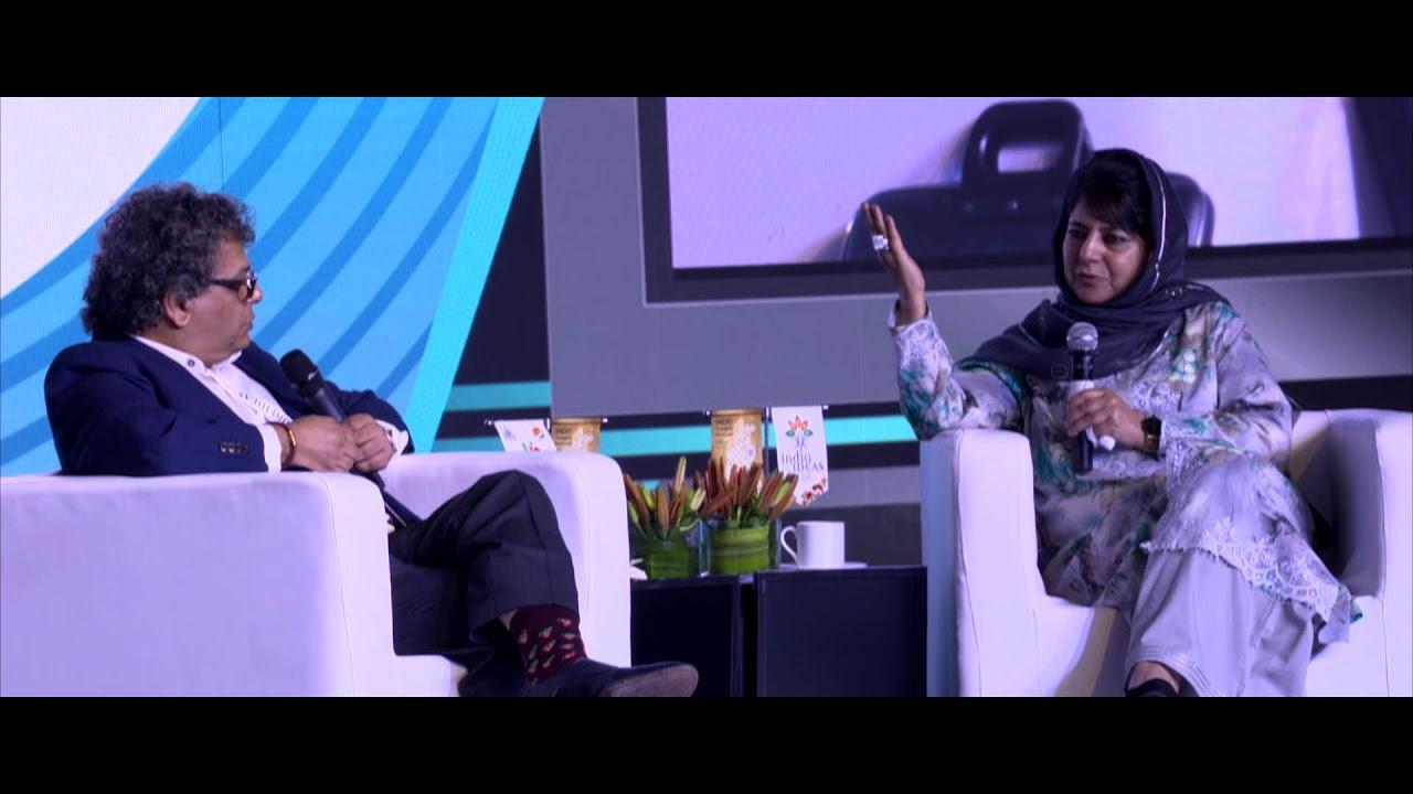 S.Prasannarajan in conversation with Mehbooba Mufti at ...