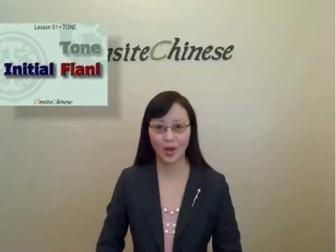 Learn Chinese online Speak Mandarin Online Learn Mandarin lessons (001) - Chinese Pinyin Four Tones