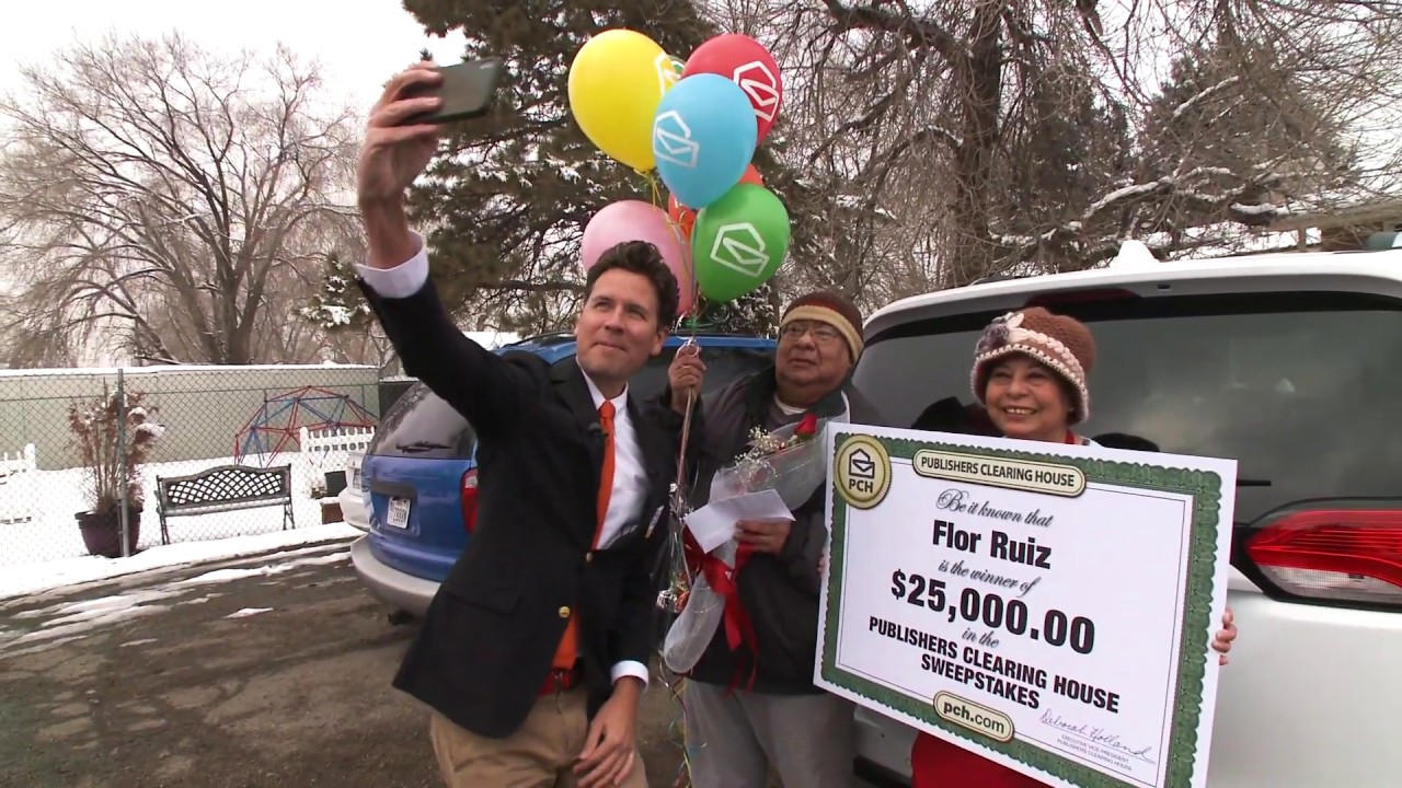 Publishers Clearing House Winners: Flor Ruiz From Sandy, Utah Wins $25,000