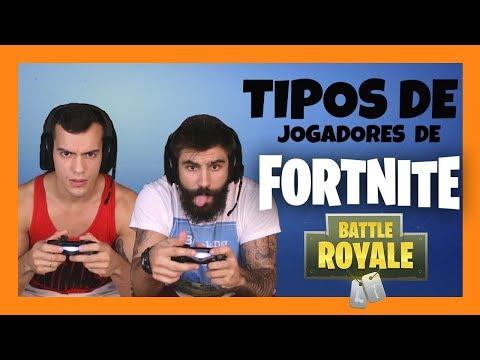 TIPOS DE JOGADORES DE FORTNITE