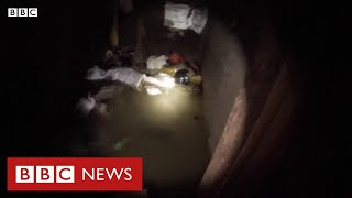 O maior túnel de contrabando já descoberto na fronteira dos EUA com o México