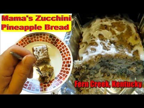 Mama Sandy Homemade Zucchini Pineapple Bread