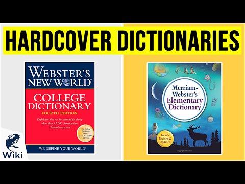 10 Best Hardcover Dictionaries 2020