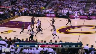 Paul George Defense On LeBron James, April 17, Playoffs 2017, R1G2