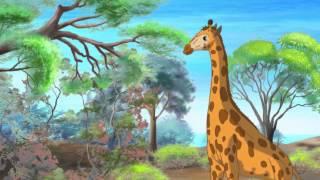 Уроки живої природи - Жираф (4 серія) (Уроки з тітонькою Совою)