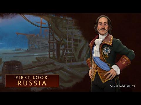 CIVILIZATION VI - First Look: Russia