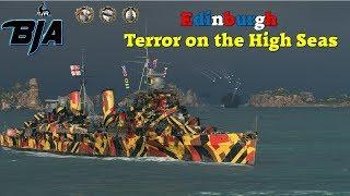 World of Warships- Edinburgh Rampage (217,000 Damage)