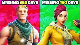 Top 10 RAREST SKINS in Fortnite
