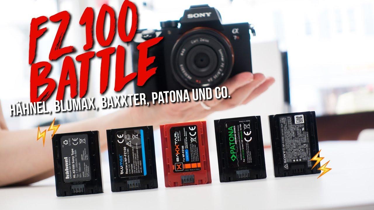 LCD LADEGERÄT 2x Patona Premium AKKU NP-FW50 für SONY Alpha 7 II ILCE-7M2