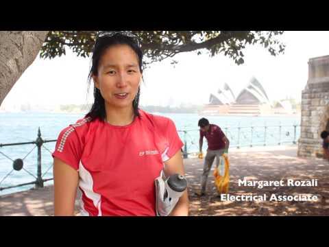 Clean-up Australia Day 2015 - Sydney