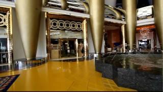 Burj al Arab Dubai, Atrium,HD Quality.mov