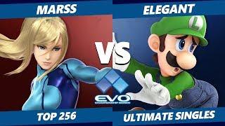 EVO 2019 SSBU - PG   Marss (ZSS) Vs. NVR   Elegant (Luigi) Smash Ultimate Tournament Top 256