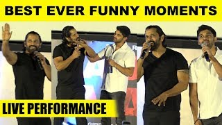 Like Father Like Son! – Vikram, Dhruv's Best Ever Funny Moments!  Adithya Varma Audio Launch