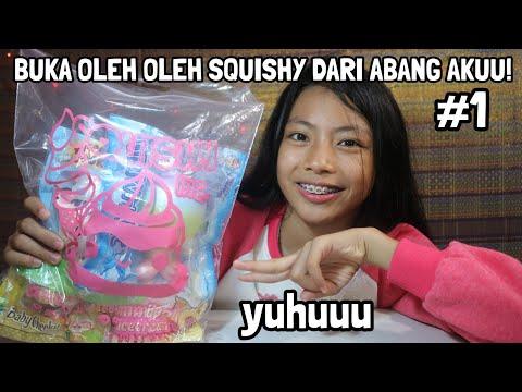 BUKA OLEH OLEH SQUISHY LICENSED DARI ABANG AKUU TNI AAL!! SURABAYA! Part 1