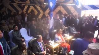 قناة السويس الجديدة:رئيسة أفريقيا الوسطى فى أنبهار من قناة السويس الجديدة