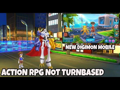 Bukan Turnbased CoYY!! DIGIMON Eudemon Gameplay MMORPG Android / IOS 口袋幻兽