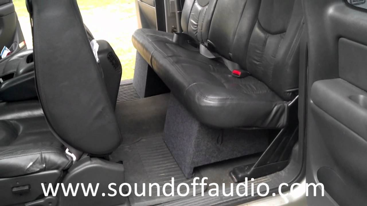 CHEVROLET EXTENDED CAB SUB BOX 1999-2006 - YouTube