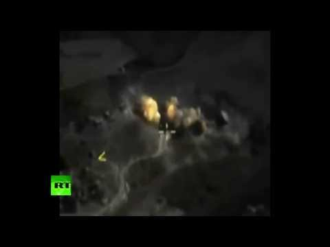 Combat Cam: Russian jets target ISIS command center in Raqqa - Moscow MoD