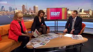 Marr Show: Sunday Papers review with Julie Hartley-Brewer and Polly Toynbee