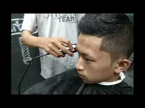 Teknik belajar potong rambut rapi part.1 526ca03cab
