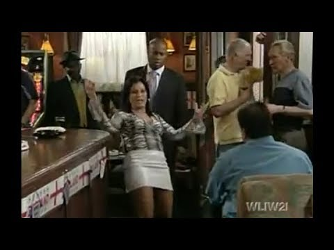 EastEnders - Kat Slater Humiliates Herself In The Vic (6th June 2002)