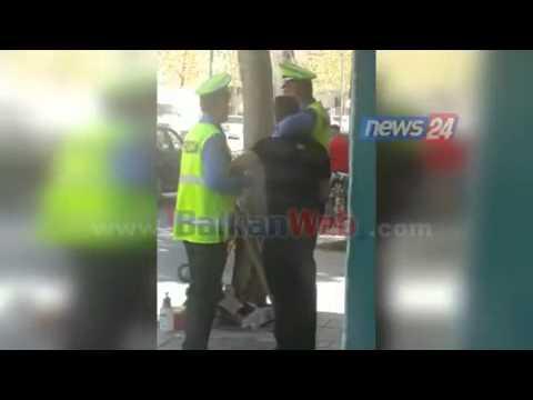 """Tiranë, shoferi i """"Lamborghinit"""" shan dhe kërcënon policin për një gjobë"""