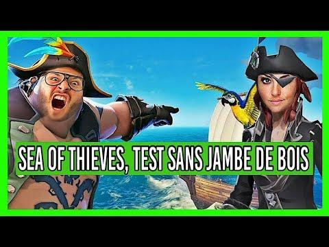 SEA OF THIEVES, MON VERDICT SANS JAMBE DE BOIS ! Test Xbox One X
