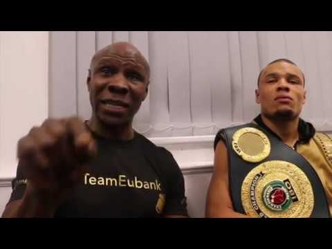 'ILL SHOW YOU WHAT A PUNK DeGALE IS' - CHRIS EUBANK JR & SENIOR GO IN! -CLAIM IBO TITLE OVER QUINLAN