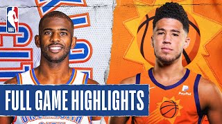 THUNDER at SUNS | FULL GAME HIGHLIGHTS | August 10, 2020