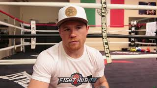 CANELO RESPONDS TO JAIME MUNGUIA WANTING TO FIGHT HIM