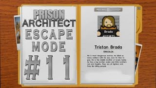 Prison Architect - Escape Mode #11 - 3 Boyutlu Güncelleme -