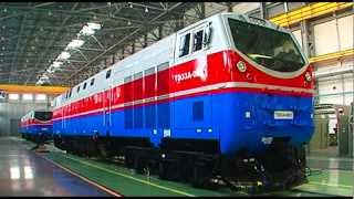 kazakhstan locomotive assembly factory lkz 2012