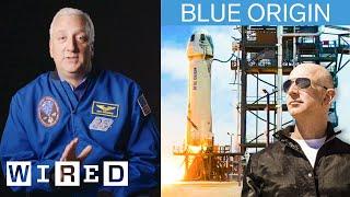 Former NASA Astronaut Explains Jeff Bezos's Space Flight   WIRED