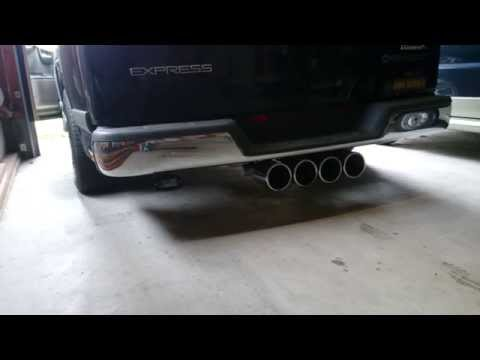CHEVROLET EXPRESS ; Dynomax exhaust